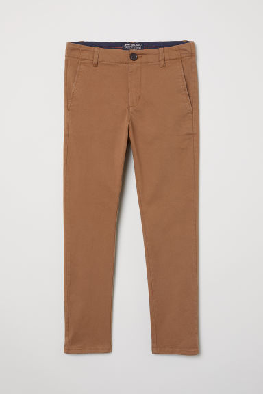 Cotton chinos - Brown - Kids | H&M CN