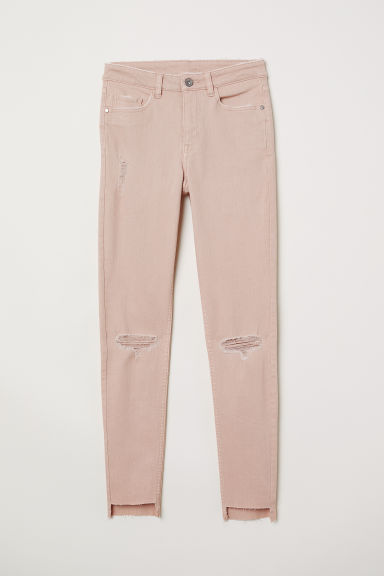 Skinny Regular Ankle Jeans - 复古粉红 -  | H&M CN