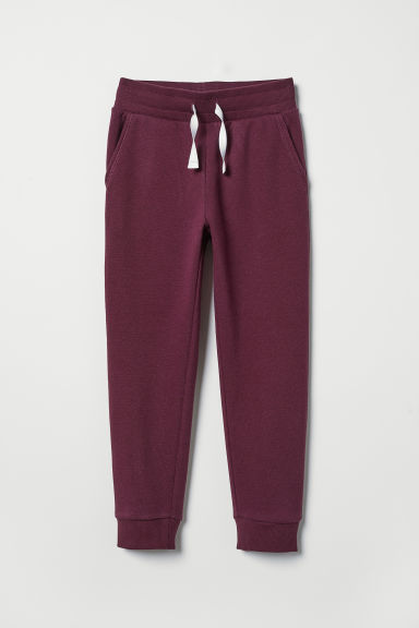 Joggers - Dark red - Kids | H&M CN