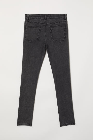 Pantaloni superstretch - Nero washed out - BAMBINO | H&M IT