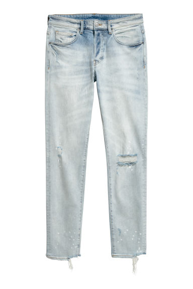 Skinny Trashed Jeans - Ice blue -  | H&M CN