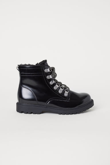 Zip-up boots - Black -  | H&M