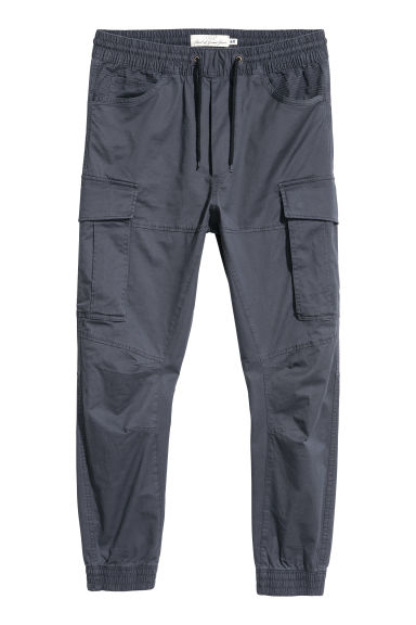 Cargo joggers - Dark blue - Men | H&M