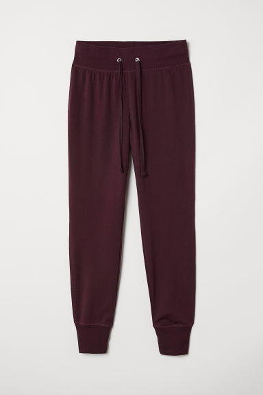 Joggers - Burgundy - Ladies | H&M