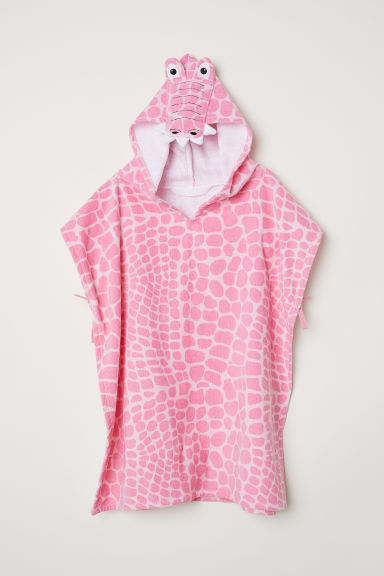 Hooded Towel - Pink - Home All | H&M CA