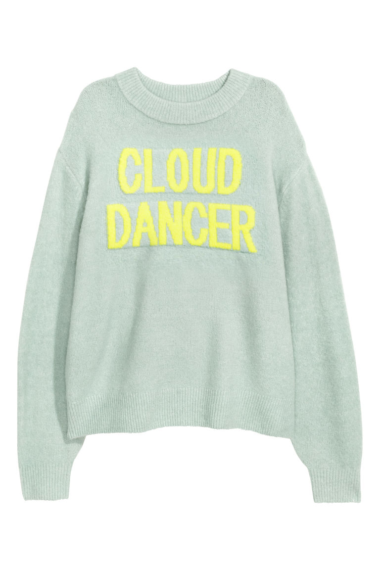 Knitted jumper - Mint green - Ladies | H&M