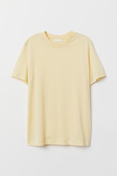 H&M - Camiseta en mezcla de seda - 5
