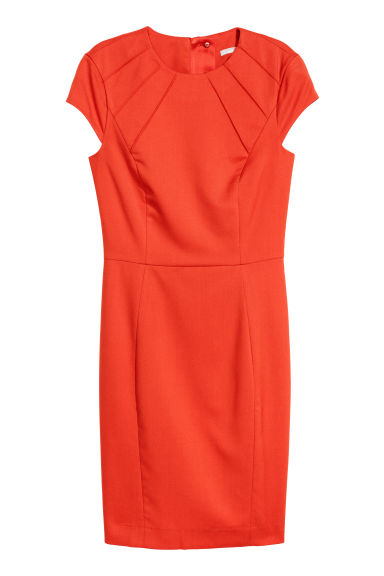 Short dress - Orange - Ladies | H&M