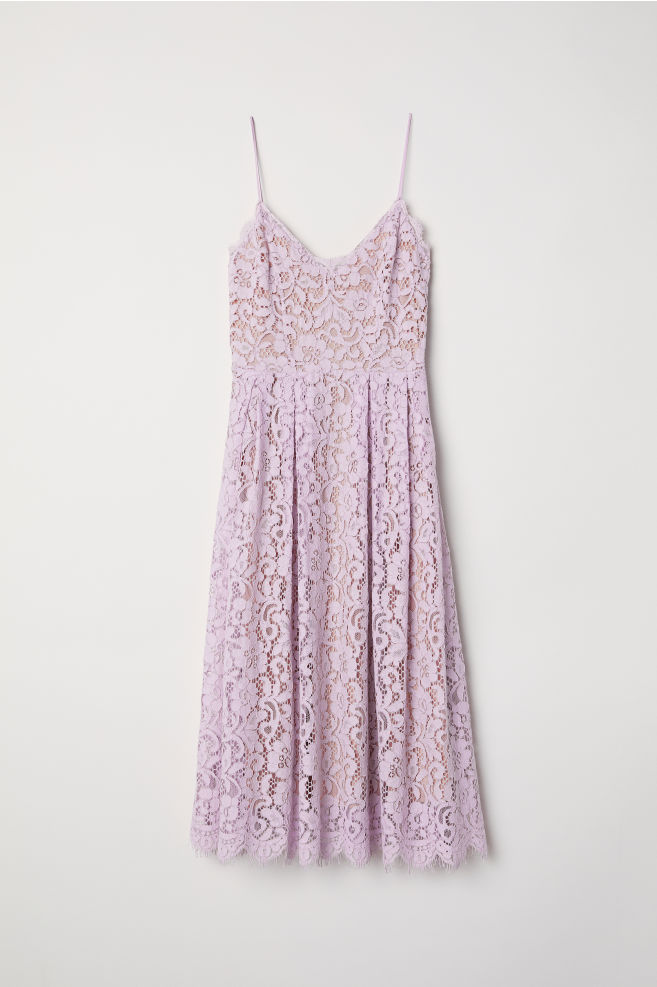 a76b6c65e59 Lace dress - Light purple - Ladies
