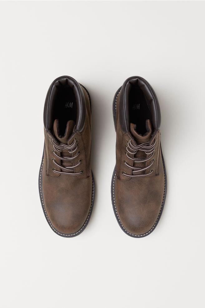9b636fbd Boots - Mørk brun - HERRE   H&M ...
