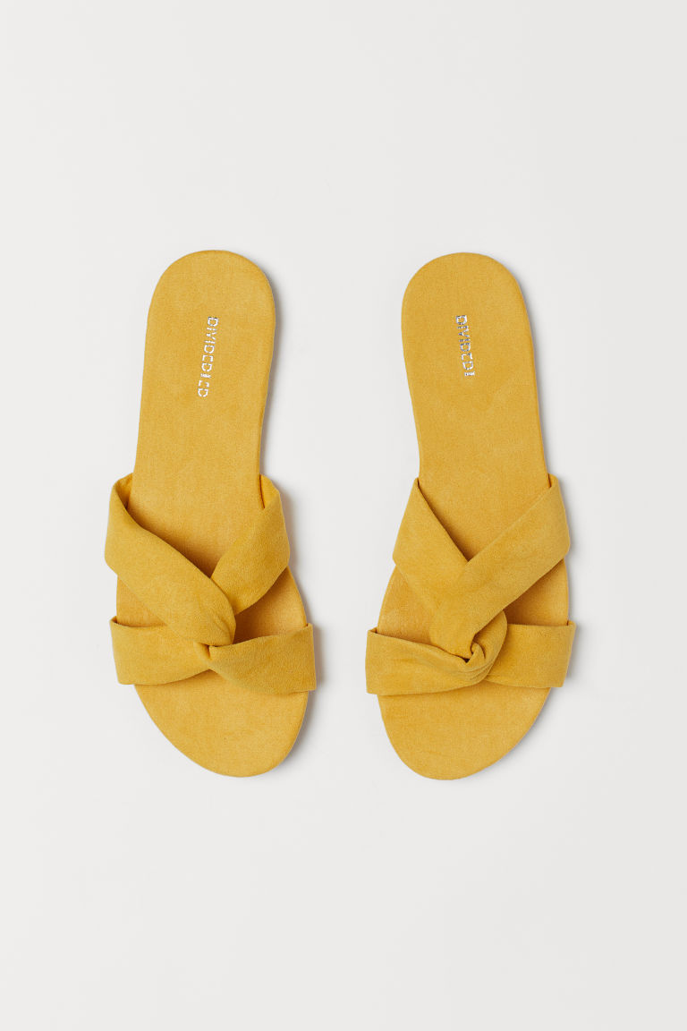 Sandals - Yellow -  | H&M CA