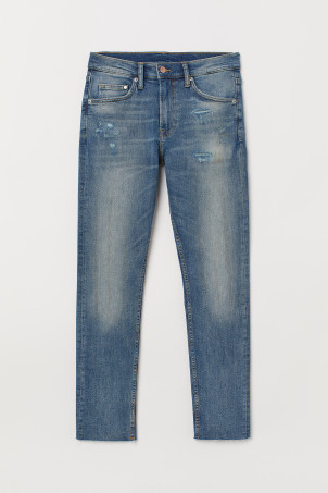 Cropped Super Skinny Jeans
