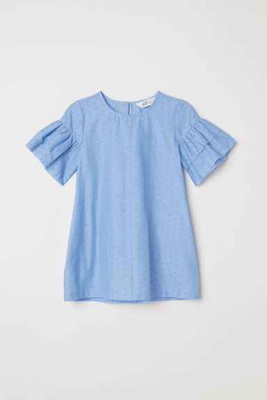 Cotton dress - Light blue - Kids | H&M