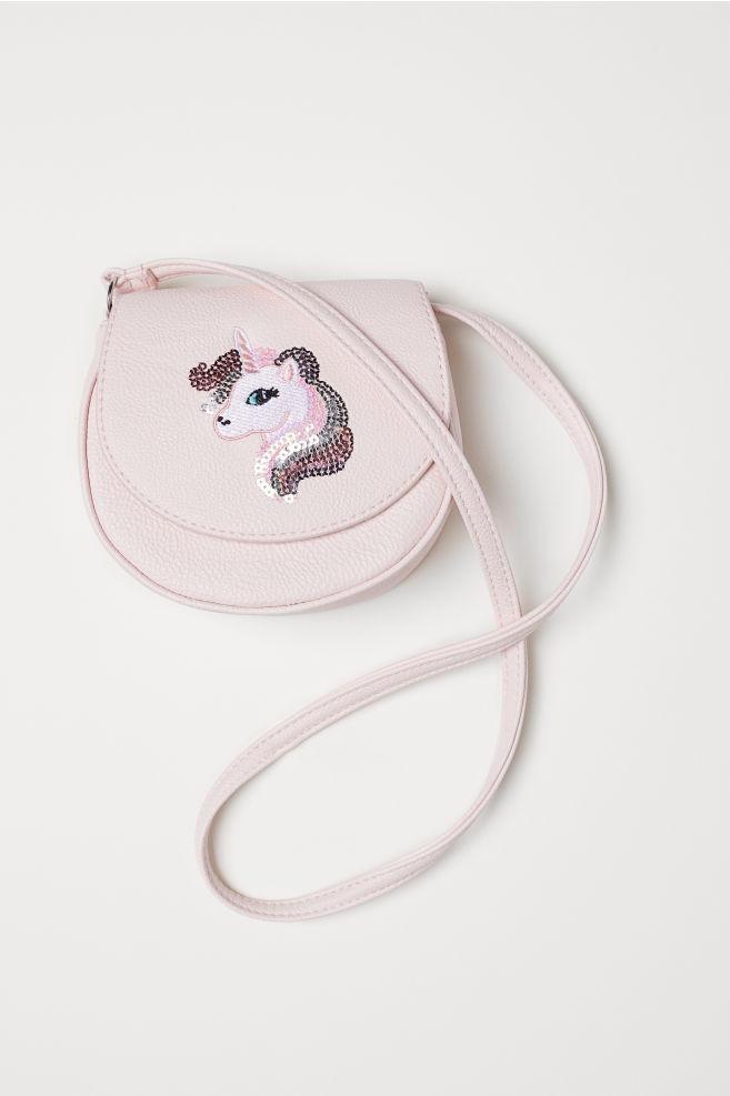 e615c50ba2 Small shoulder bag - Light pink Unicorn - Kids