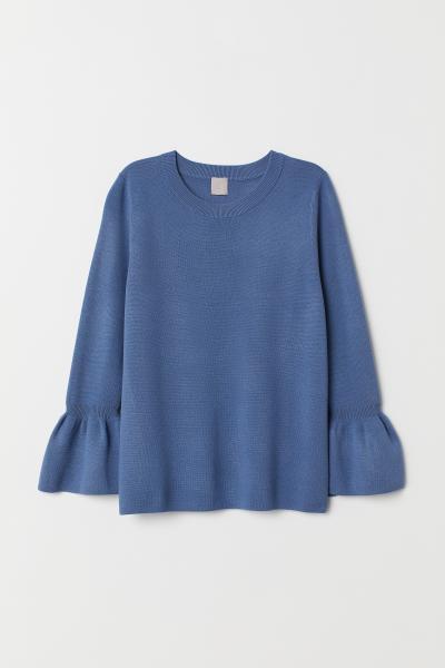 H&M - Jersey con mangas de volante - 5