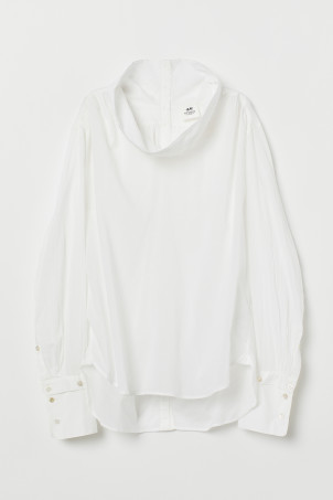Airy cotton blouse