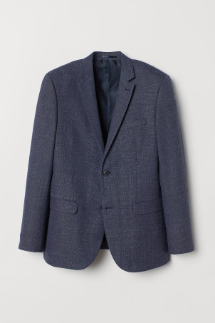 Wool-blend jacket Slim Fit
