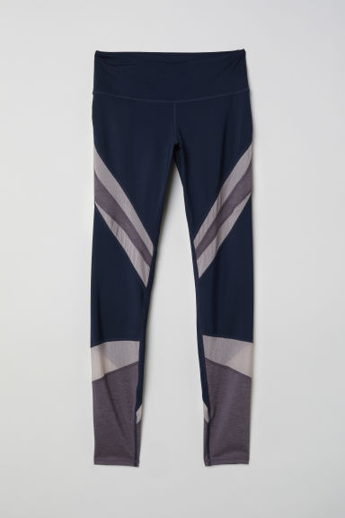 Yogalegging - Donkerblauw - DAMES | H&M BE