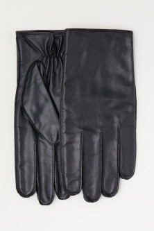 Leather smartphone gloves