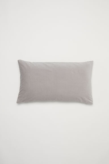 Cotton cushion cover - Light grey - Home All | H&M US