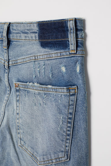 Slim High Cropped Jeans - Azul denim -  | H&M ES