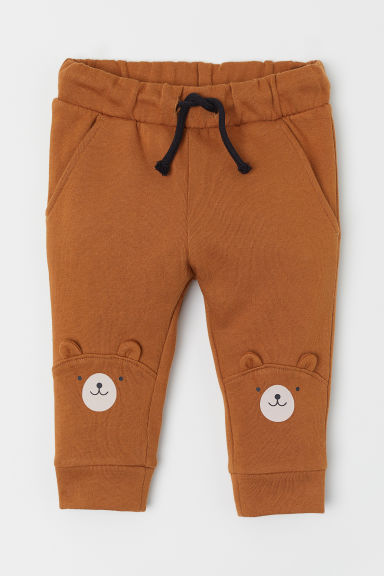 Joggers - Brown/Bear - Kids | H&M IE