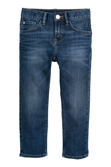 Slim Fit Jeans - Blu scuro - BAMBINO | H&M IT