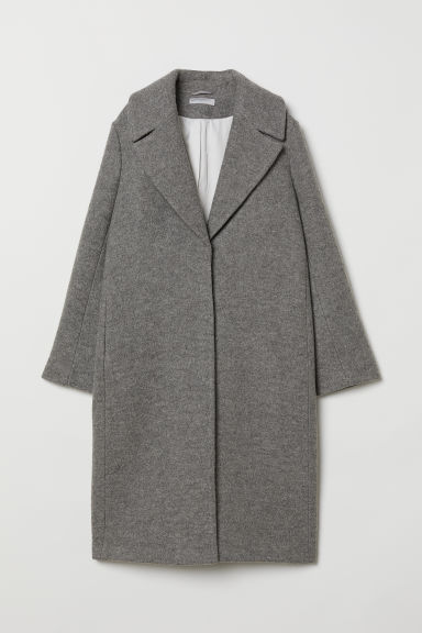 Wool coat - Grey - Ladies | H&M