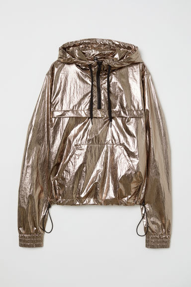 Shimmering Metallic Anorak - Copper-colored -  | H&M US