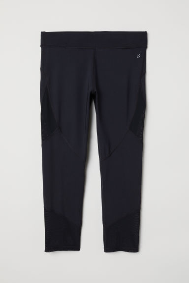 Leggings da running a 3/4 - Nero -  | H&M IT