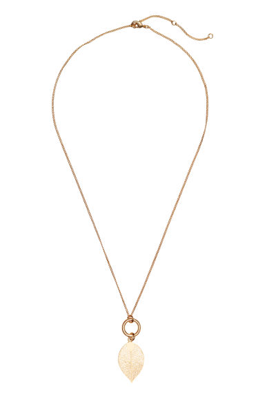 Necklace - Gold-coloured -  | H&M GB