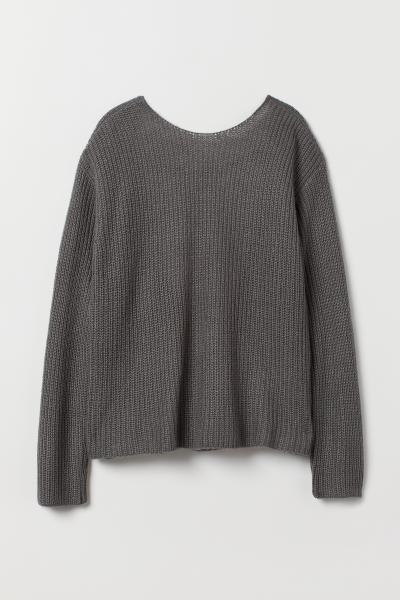 H&M - Open-backed jumper - 4