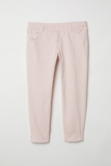 H&M+ Boyfriend Jeans - Powder pink - Ladies | H&M CN