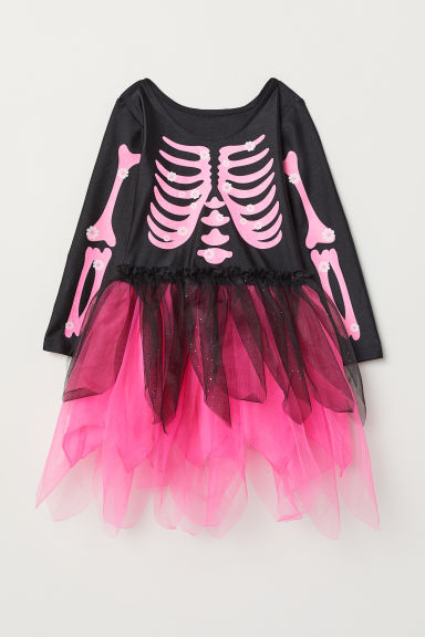 Fancy dress costume - Black/Cerise skeleton - Kids | H&M