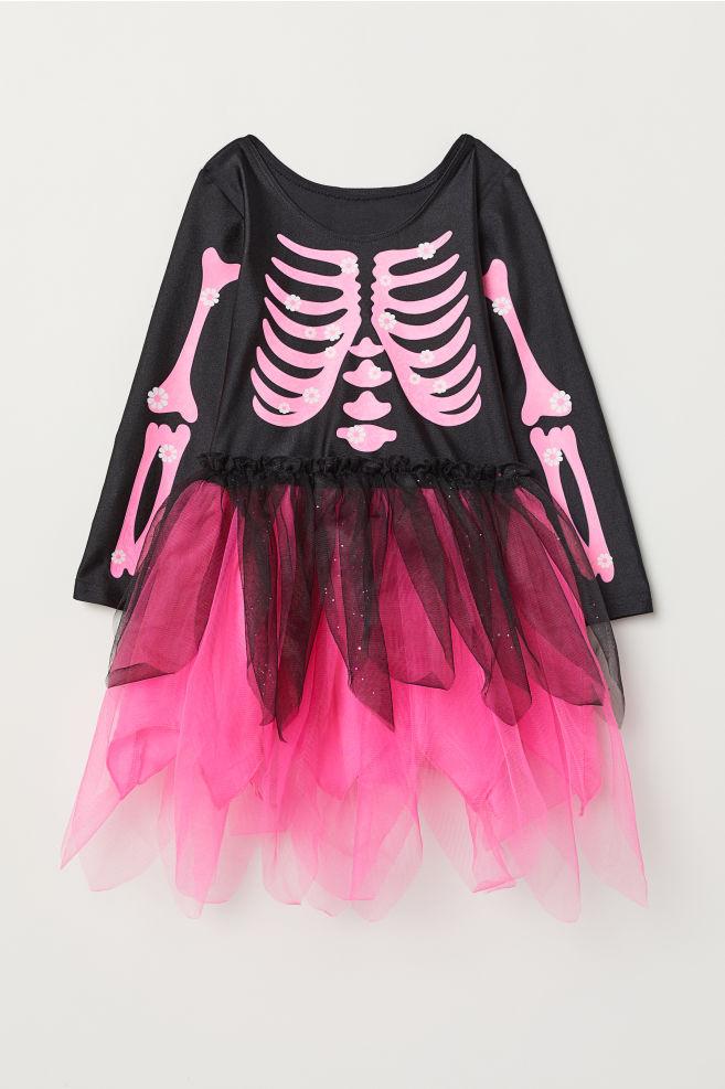 ae596e9dbae Fancy dress costume - Black Cerise skeleton - Kids