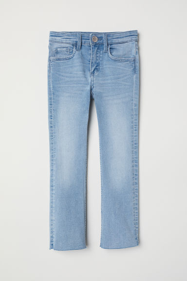 Superstretch Bootcut Jeans - 浅蓝色牛仔布 -  | H&M CN