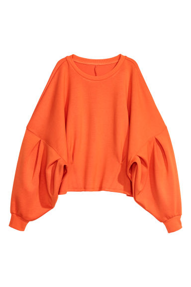 Tröja i scuba - Orange -  | H&M SE