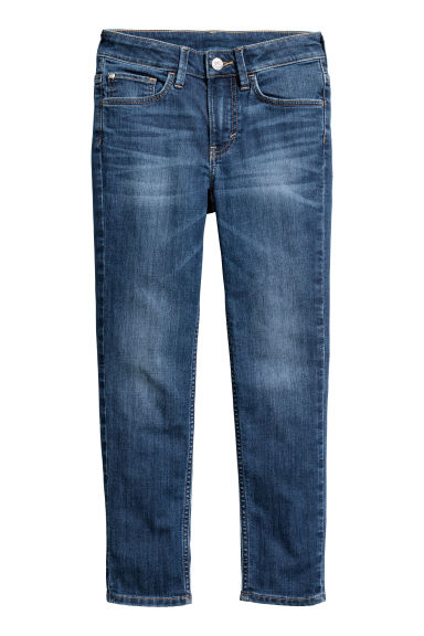 Skinny Fit Jeans - Dark denim blue - Kids | H&M