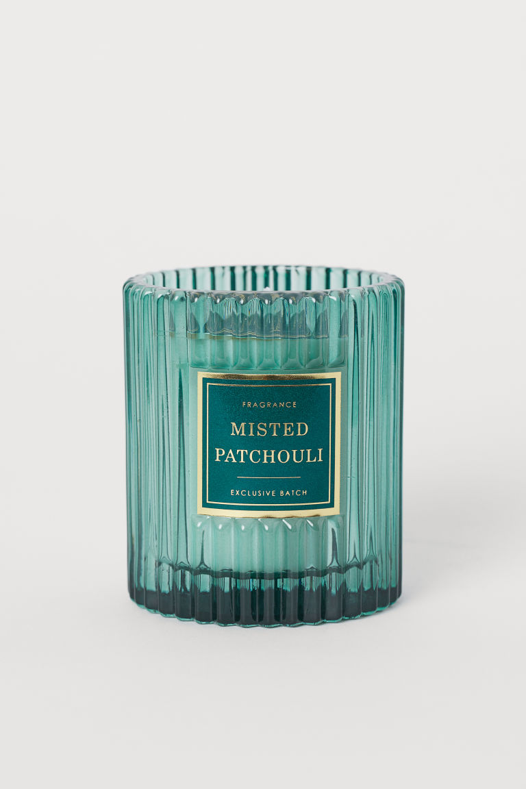 Bougie parfumée - Turquoise/Misted Patchouli - Home All | H&M CA