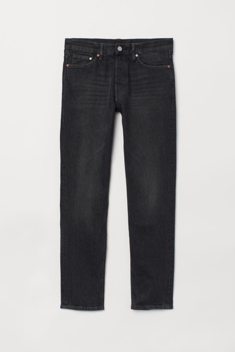Slim Jeans - Black/Washed -  | H&M