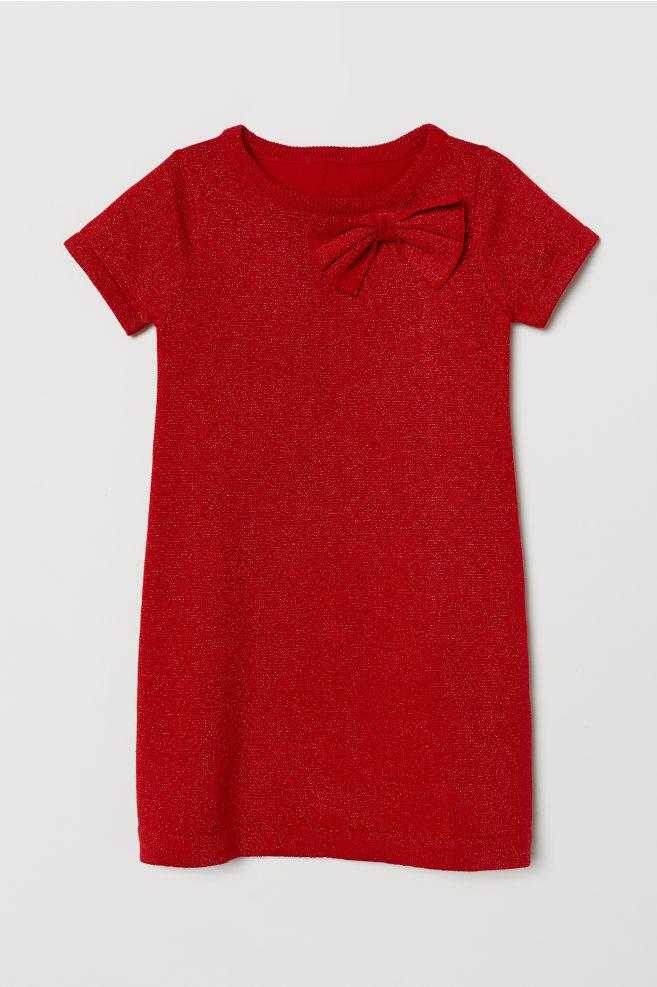 Csillámló ruha - Piros - GYEREK  2763ad560b