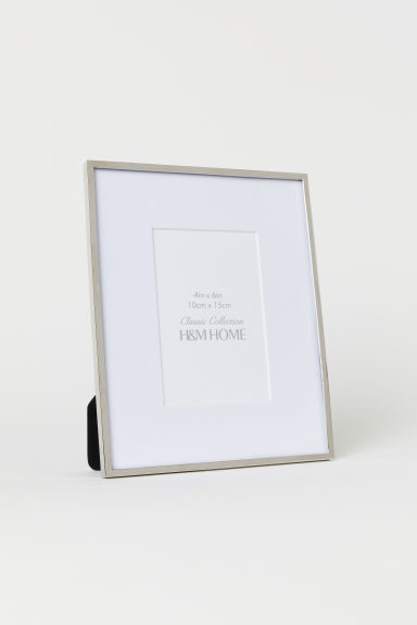 Metal frame - Silver-coloured/Clear glass - Home All | H&M CN
