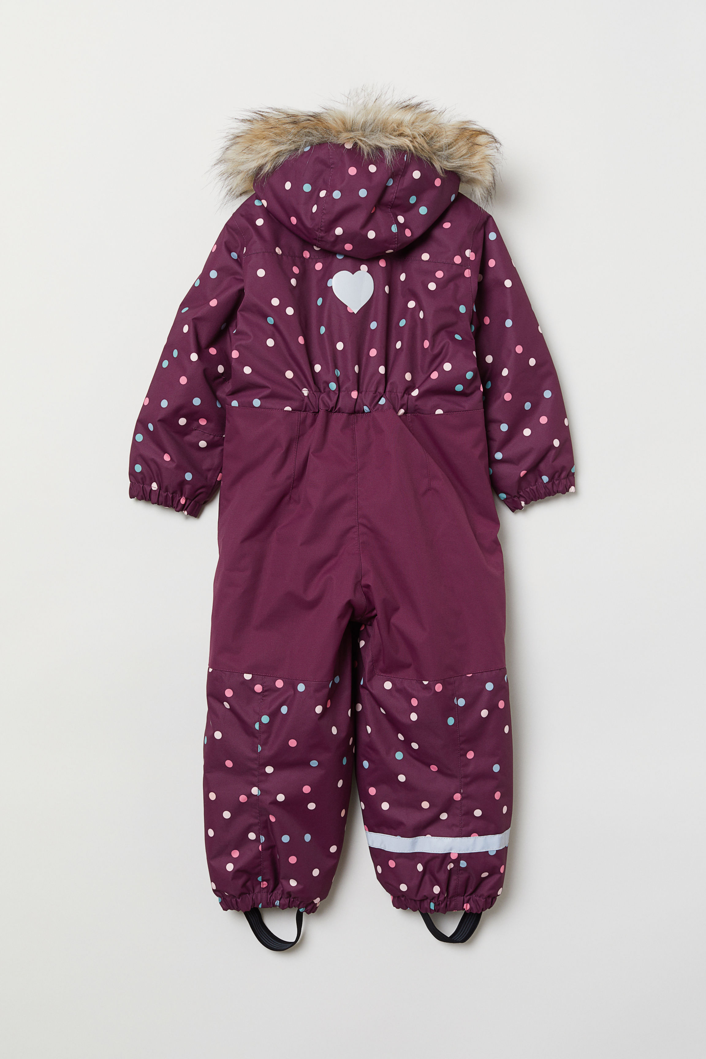 0bd4432a8 Padded Snowsuit - Dark blue dotted - Kids