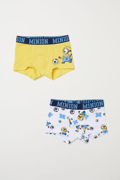 2-pack boxer shorts - Yellow/Minions - Kids | H&M