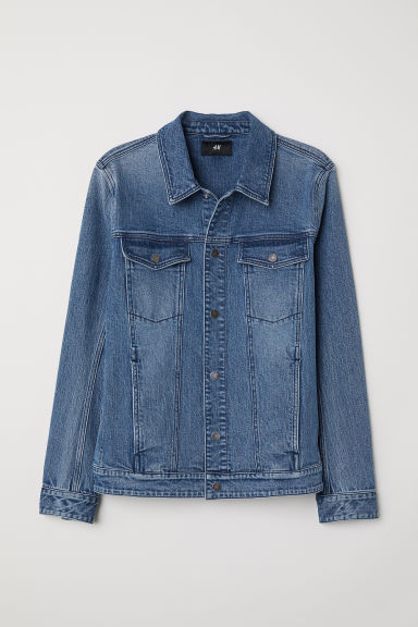 Denim Jacket - Denim blue - Men | H&M US