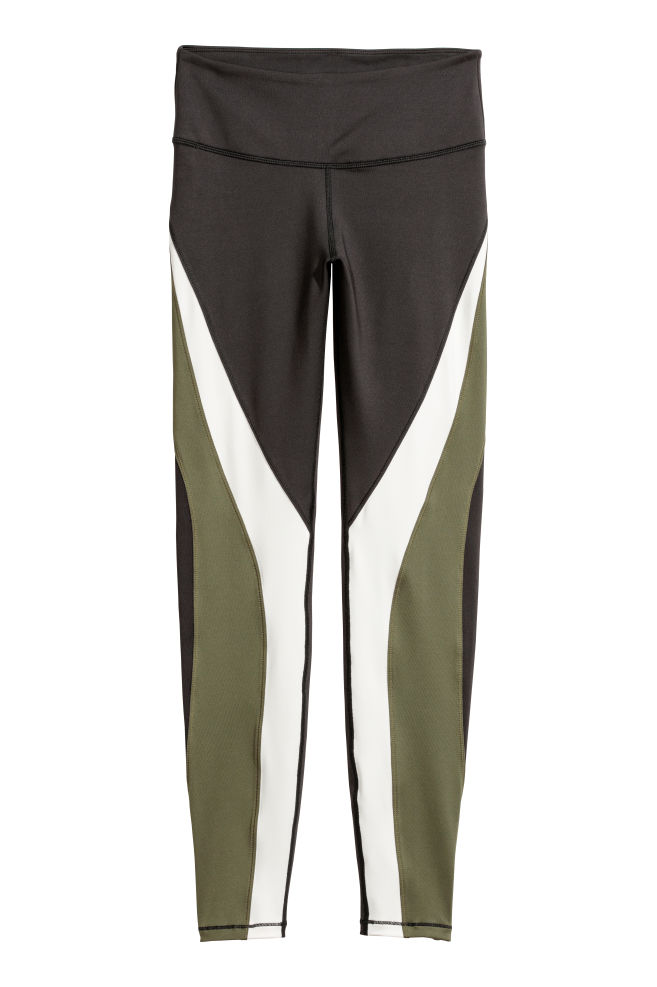 Shaping Sportlegging.Sportlegging Shaping Waist Donkergroen Dames H M Nl