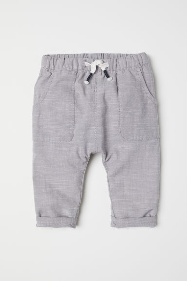 Pull-on trousers - Grey - Kids | H&M CN