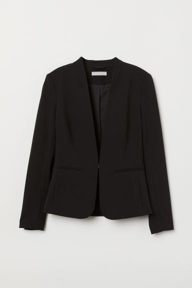 Tailored jacket - Black -  | H&M CN