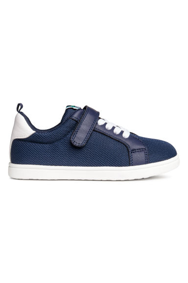 Mesh trainers - Dark blue - Kids | H&M CN