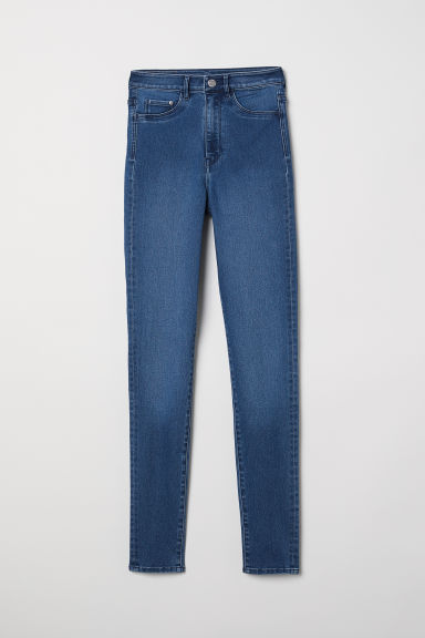 Super Skinny High Jeggings - Denim blue - Ladies | H&M CN